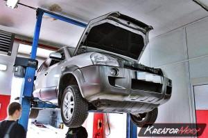Filtr cząstek stalych Hyundai Tucson 2.0 CRDI 140 KM