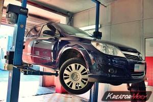 Usuwanie DPF Opel Astra H 1.7 CDTI 125 KM