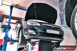 Zapchany DPF Opel Astra J 1.7 CDTI 125 KM