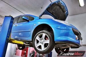 Usuwanie DPF Peugeot 307 2.0 HDI 136 KM