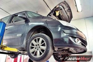 Usuwanie DPF Renault Espace 2.0 DCI 150 KM