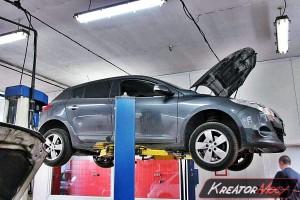 Usuwanie DPF Renault Megane III 1.5 DCI 110 KM