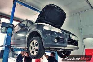 Usuwanie DPF Suzuki SX4 1.9 DDiS 120 KM