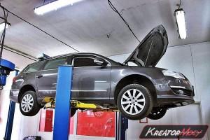 Zapchany DPF VW Passat B6 2.0 TDI 140 KM