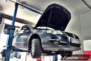 Usuwanie DPF VW Passat B6 1.9 TDI 105 KM