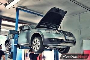 Usuwanie DPF Audi A6 C6 Allroad 3.0 TDI 240 KM