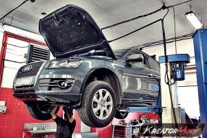 Usuwanie DPF Audi Q5 2.0 TDI 170 KM