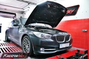 Podniesienie mocy BMW 5 GT F07 3.0sd 300 KM