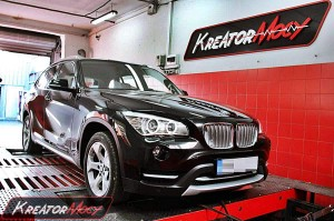 Chip tuning BMW X1 E84 xDrive18d 143 KM