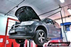 Usuwanie DPF Dodge Journey 2.0 CRD 140 KM