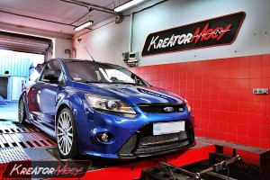 Chip tuning Ford Focus RS MK2 2.5T 305 KM