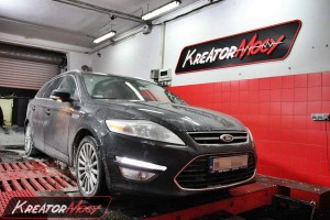 Chip tuning Ford Mondeo MK4 1.6 TDCI 115 KM