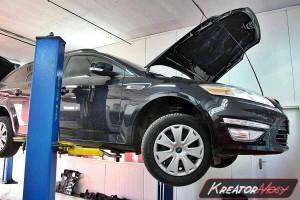 Usuwanie DPF Ford Mondeo MK4 1.6 TDCI 115 KM