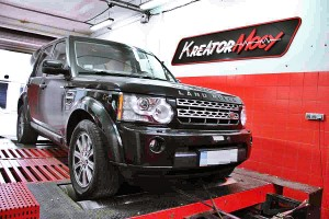 Chip tuning Land Rover Discovery4 2.7 TDV6 190 KM