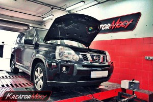 Chip tuning Nissan X-Trail 2.0 DCI 150 KM