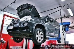 Usuwanie DPF Nissan Xtrail 2.0 DCI 175 KM