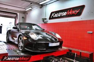 Chip tuning Porsche 991 Turbo 996 3.6 420 KM