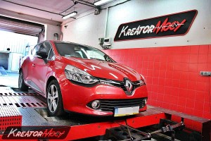Chip tuning Renault Clio 0.9 TCE 90 KM