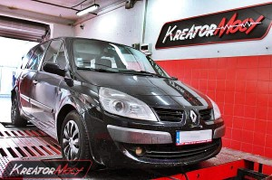Chip tuning Renault Scenic II 1.9 DCI 130 KM