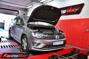 Chip tuning Volkswagen Golf Sportsvan 2.0 TDI 150 KM