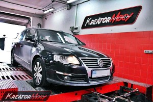 Chip tuning VW Passat B6 2.0 TDI CR 170 KM