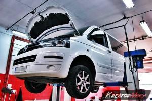 Usuwanie DPF VW T5 2.0 TDI 102 KM
