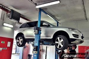 Usuwanie DPF VW Touareg 5.0 TDI V10 313 KM