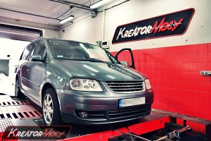 Chip tuning VW Touran 2.0 TDI PD 140 KM