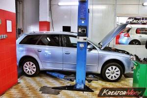Usuwanie DPF Audi A4 B7 1.9 TDI 115 KM
