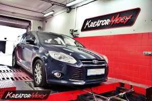 Chip tuning Ford Focus MK3 2.0 TDCI 140 KM
