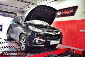 Chip tuning Hyundai ix35 2.0 CRDI 184 KM