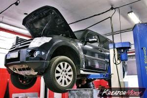 Usuwanie DPF Mitsubishi Pajero 3.2 DID 200 KM