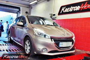 Chip tuning Peugeot 208 1.4 HDI 68 PS