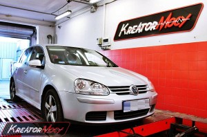 Chip tuning VW Golf V 1.9 TDI 105 KM