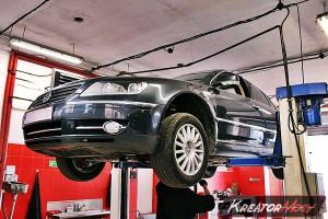 Usuwanie DPF VW Phaeton 3.0 TDI 233 KM