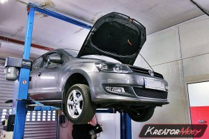 Usuwanie DPF VW Polo 6R 1.6 TDI 105 KM