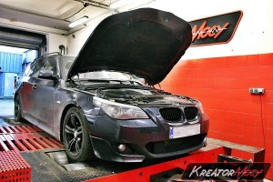 Chip tuning BMW 5 E61 520d 177 KM