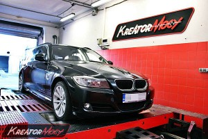 Chip tuning BMW 3 E91 316d 115 KM