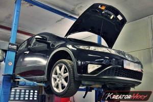 Usuwanie DPF Honda Civic 2.2d 140 KM
