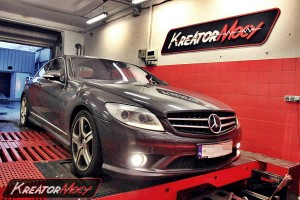 Chip tuning Mercedes W216 CL 600 517 KM