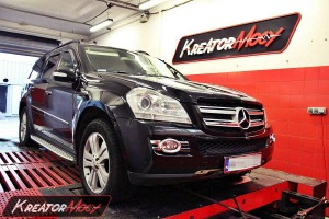 Chip tuning Mercedes GL 320 CDI 224 KM