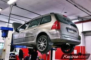 Usuwanie DPF Peugeot 307 1.6 HDI 109 KM