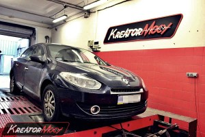 Chip tuning Renault Fluence 1.5 DCI 110 KM