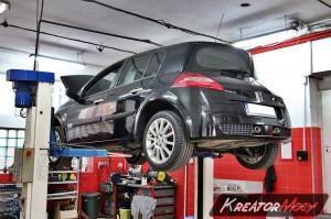 Usuwanie FAP Renault Megane II 2.0 DCI 175 KM
