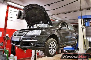 Filtr cząstek stałych VW Jetta 1.6 TDI 105 KM