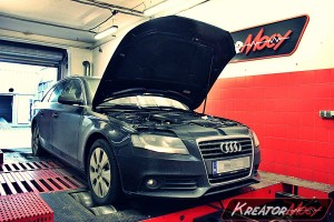 Chip tuning Audi A4 B8 2.0 TDI CR 143 KM