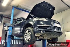 Usuwanie DPF Audi Q7 3.0 TDI 233 KM