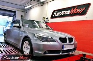 Chip tuning BMW 5 E60 525D 177 KM