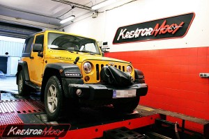 Chip tuning Jeep Wrangler 2.8 CRD 200 KM