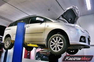 Filtr DPF Mazda 5 2.0d 140 KM